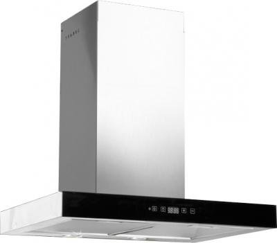 Вытяжка Т-образная Zorg Technology Стелс (Stels) 750 (60, нержавейка матовая/бежевый) - аналог с черным стеклом
