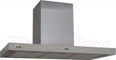 Вытяжка Т-образная Zorg Technology Стелс E (Stels) 1000 (90, Matt Stainless Steel-Beige) - общий вид