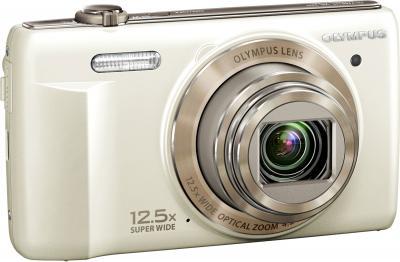 Компактный фотоаппарат Olympus VR-360 White - общий вид