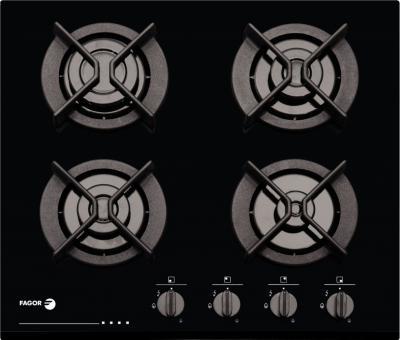 Газовая варочная панель Fagor 6CFI-4GLS NAT - общий вид