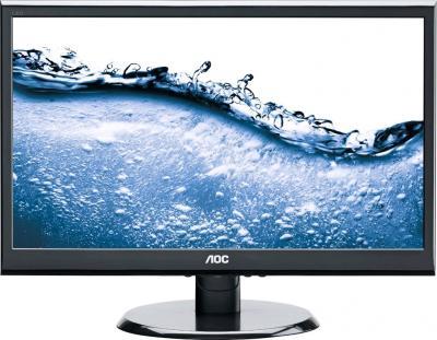 Монитор AOC E2450SWDAK - фронтальный вид