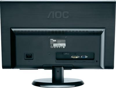 Монитор AOC E2450SWDAK - вид сзади