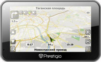 GPS навигатор Prestigio GeoVision 5566 (PGPS5566CIS4SMHDNV) - общий вид