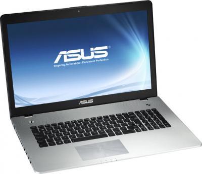 Ноутбук Asus N76VJ (90NB0041-M00540) - общий вид