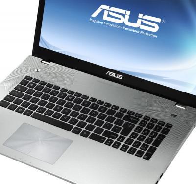Ноутбук Asus N56DP (90NQOC124W21245823AU) - клавиатура