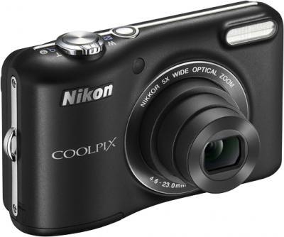 Компактный фотоаппарат Nikon Coolpix L28 Black - общий вид