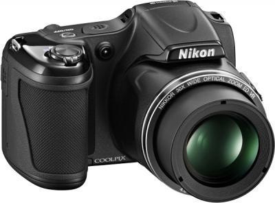 Компактный фотоаппарат Nikon Coolpix L820 Black - общий вид