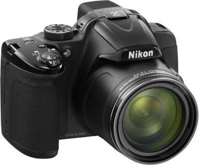 Компактный фотоаппарат Nikon Coolpix P520 Silver - общий вид