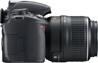 Зеркальный фотоаппарат Nikon D3100 Kit 18-55mm VR + 55-300mm VR - вид справа