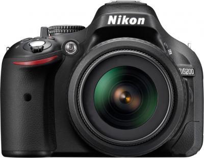 Зеркальный фотоаппарат Nikon D5200 Kit  (18-105mm VR) - вид спереди
