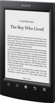 Электронная книга Sony PRS-T2BC (Black) - общий вид