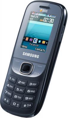 Мобильный телефон Samsung E2202 Black (GT-E2202 ZKASER) - общий вид