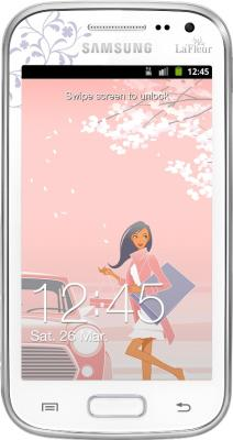 Смартфон Samsung i8160 Galaxy Ace 2 La Fleur White (GT-I8160 ZWZSER) - общий вид