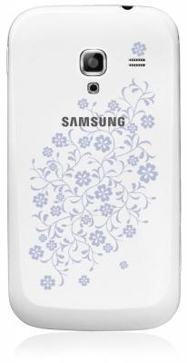 Смартфон Samsung i8160 Galaxy Ace 2 La Fleur White (GT-I8160 ZWZSER) - задняя панель