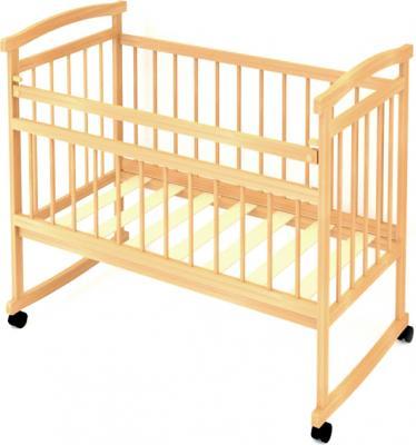 Детская кроватка Бэби Бум Аленка (Бук) - общий вид