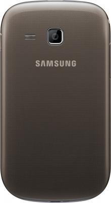Мобильный телефон Samsung Rex 90 / S5292 (коричнево-золотой) - задняя панель
