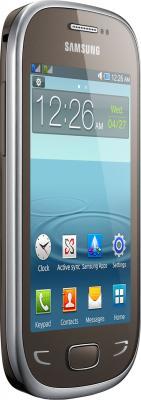 Мобильный телефон Samsung Rex 90 / S5292 (коричнево-золотой) - общий вид