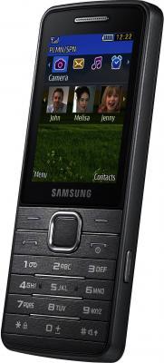 Мобильный телефон Samsung S5610 Black (GT-S5610 ZKASER) - общий вид