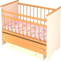 Детская кроватка Бэби Бум Вероника (Бук) -