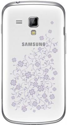 Смартфон Samsung S7562 Galaxy S Duos La Fleur White (GT-S7562 CWZSER) - задняя панель