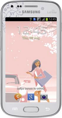 Смартфон Samsung S7562 Galaxy S Duos La Fleur White (GT-S7562 CWZSER) - общий вид