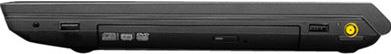 Ноутбук Lenovo B590 (59368412) - вид сбоку (слева)