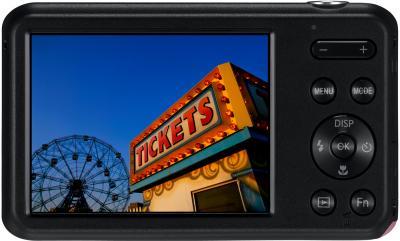 Компактный фотоаппарат Samsung ES95 Pink (EC-ES95ZZBPPRU) - вид сзади