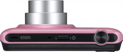Компактный фотоаппарат Samsung ES95 Pink (EC-ES95ZZBPPRU) - вид сверху