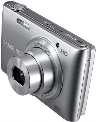 Компактный фотоаппарат Samsung ST150F Silver (EC-ST150FBPSRU) - общий вид