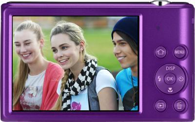 Компактный фотоаппарат Samsung ST72 Plum (EC-ST72ZZBPLRU) - вид сзади