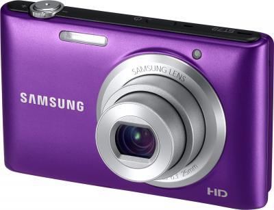 Компактный фотоаппарат Samsung ST72 Plum (EC-ST72ZZBPLRU) - общий вид
