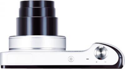 Компактный фотоаппарат Samsung Galaxy Camera EK-GC100 (белый) - вид сверху