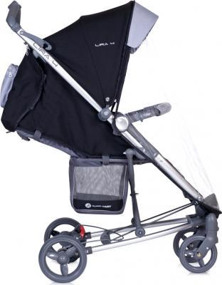 Детская прогулочная коляска Euro-Cart Lira 4 Chocolate - дождевик