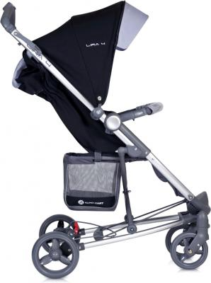 Детская прогулочная коляска Euro-Cart Lira 4 Chocolate - вид сбоку