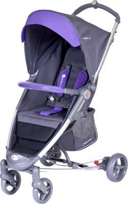 Детская прогулочная коляска Euro-Cart Lira 4 Violet - общий вид