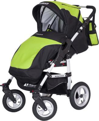 Детская универсальная коляска Riko Alpina 105 - чехол для ног (Riko Alpina Lime)