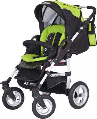 Детская универсальная коляска Riko Alpina 105 - прогулочная (Riko Alpina Lime)