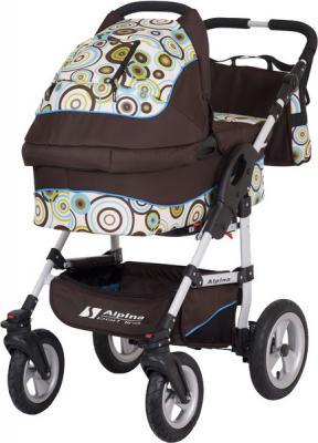 Детская универсальная коляска Riko Alpina 105 - общий вид
