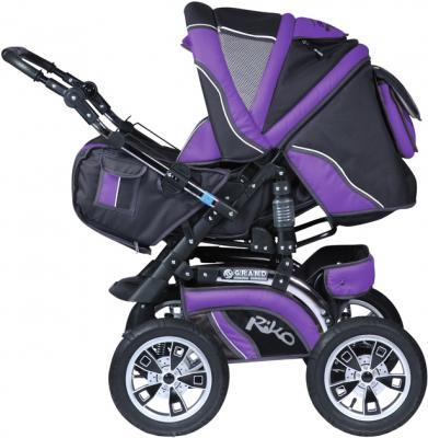 Детская универсальная коляска Riko Grand (Ultra Violet) - общий вид