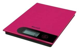 Кухонные весы Maxwell MW-1457 (Pink) - вполоборота