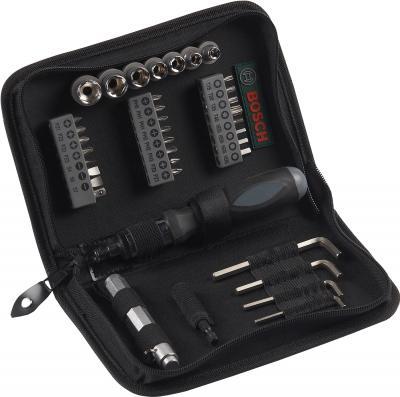 Универсальный набор инструментов Bosch Mixed 2.607.019.506 (38 предметов) - общий вид
