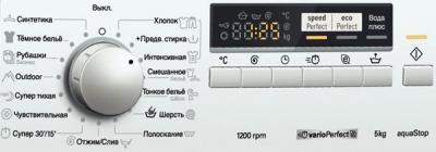Стиральная машина Siemens WS12G240 - панель управления