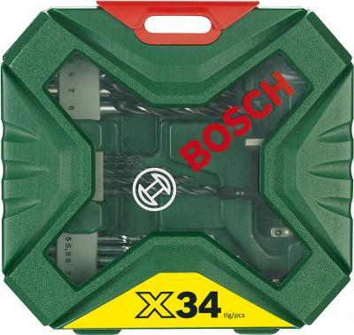 Набор оснастки Bosch X-Line Classic 2.607.010.608 - вид спереди