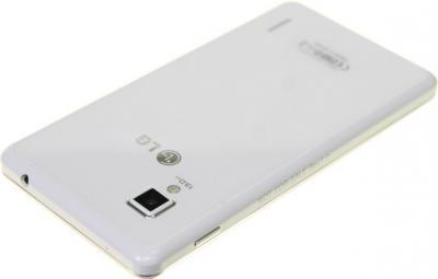 Смартфон LG E975 Optimus G White - задняя панель