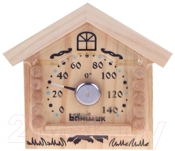 Термометр для бани Е-Текс Избушка Б-1153