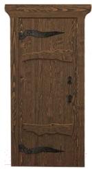 Деревянная дверь для бани Doorwood Русь 1900x700