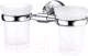 Стакан для зубных щеток Wasserkraft Isen K-4028D -