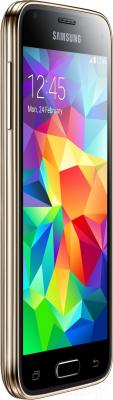 Смартфон Samsung Galaxy S5 mini / G800F (золото)