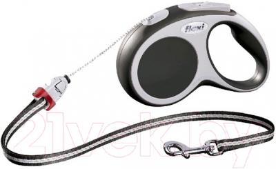 Поводок-рулетка Flexi Vario FLX362 (M, антрацит)