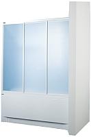 Пластиковая шторка для ванны Sanplast DTr-c-W-150 biewP -